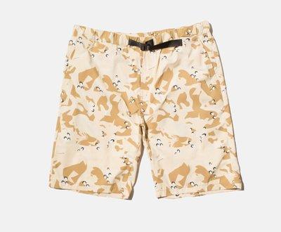 M全新 CLOT Nylon Shorts 尼龍短褲 Cap 帽沙漠迷彩T