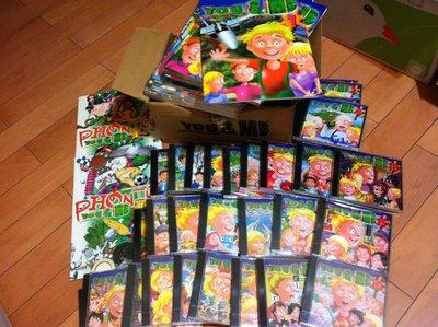 芝麻街美語.階梯YOU&ME 電腦互動學英文 / 自然拼音兒童英語教材32本書+38片光碟