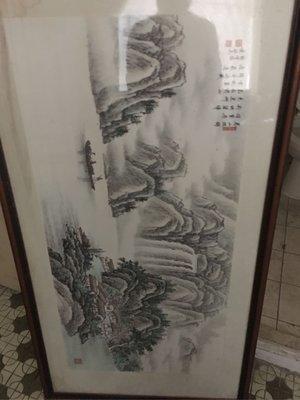 蕭敏安山水畫