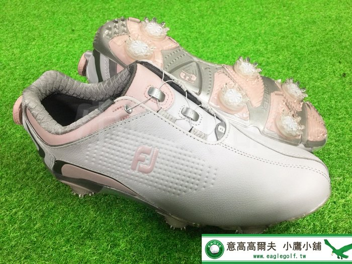 [小鷹小舖] FootJoy Golf Women's DNA 94843P 高爾夫 女仕 球鞋 女鞋 有釘 柔軟透氣