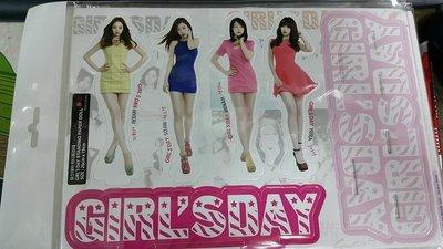 GIRL'S DAY全體立牌  韓國帶回