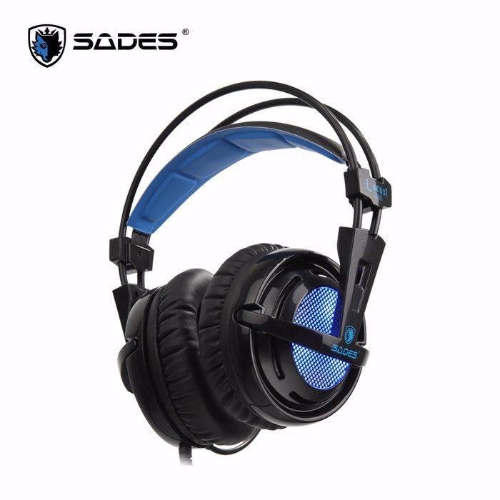 ☆. 高雄市耗材填充供印站 .☆ SADES Locust Plus 狼蝗 RGB電競耳麥 7.1 (USB)