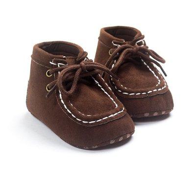 森林寶貝屋~咖啡色王子休閒鞋~學步鞋~...