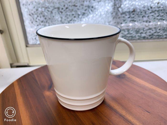 【無敵餐具】陶瓷簡約風馬克杯/拿鐵杯/咖啡杯(9.6x10cm/360cc)另有小款200cc~量多可詢價【A0383】