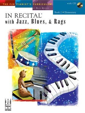 【599免運費】In Recital with Jazz, Blues, and Rags, Book 2 F1740