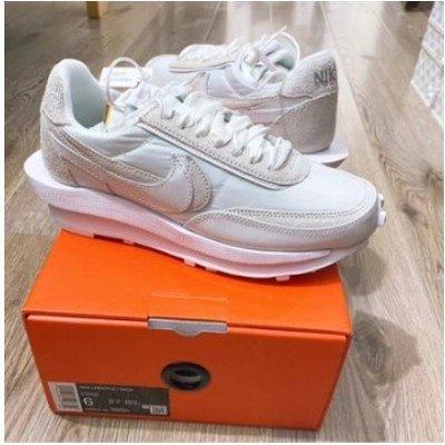 sacai x Nike LDV Waffle Nylon 白色 解構 BV0073-101