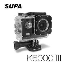 (送32G TF卡)【皓翔行車館】速霸 K6000 III 三代 Full HD 1080P 極限運動防水型 行車記錄器