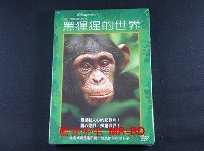 [DVD] - 黑猩猩的世界 Chimpanzee (得利正版) - [Disney Nature]