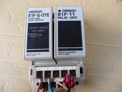 OMRON 液面控制器 61F-G-OTE  61F-11