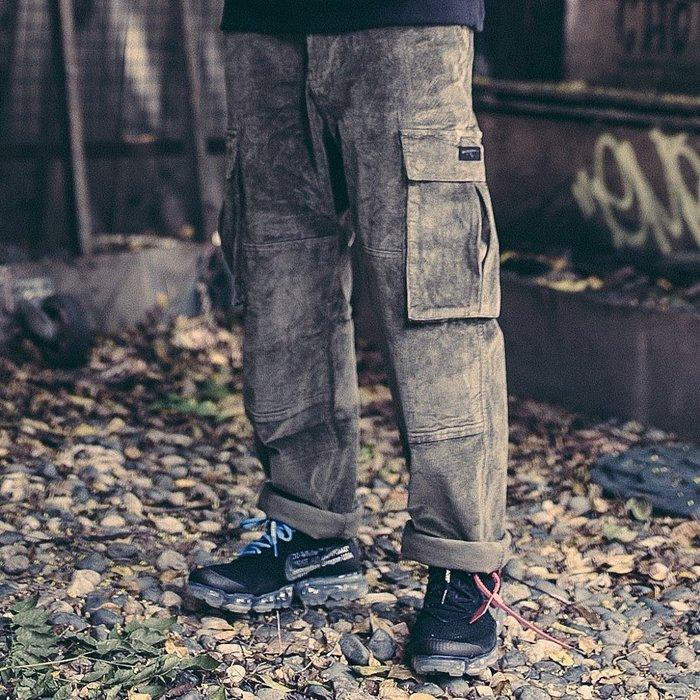 GHK 18 F/W CORDUROY PANTS 燈芯絨 工作褲 黑色/軍綠色