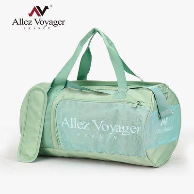 旅行袋 運動包 行李袋 收納袋 側背包 斜背包 圓筒大容量 奧莉薇閣 旅行包 哈密瓜綠
