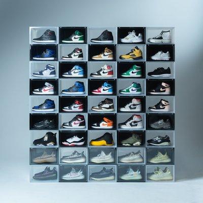 【Admonish】SNEAKER MOB SIDE OPEN BOX GLACIER 透明 球鞋收納展示盒 六件組