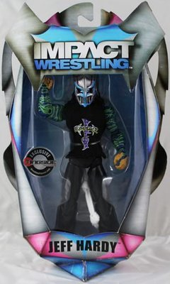 ☆阿Su倉庫☆WWE摔角 TNA巨星 FULL METAL JEFF HARDY EXCLUSIVE ACTION FIGURE 惡魔限定豪華版