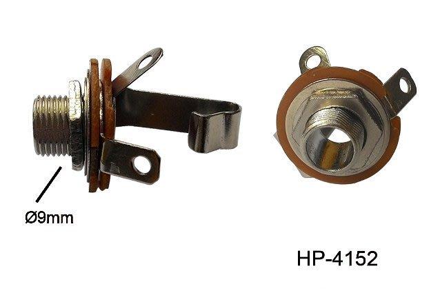 【六絃樂器】全新 Stander HP-4152 6.3 插座 / 6.3TS(母) PHONEJACK