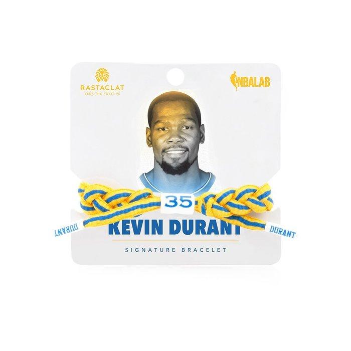 【Brand T】RASTACLAT NBA KEVIN DURANT 杜蘭特*勇士隊*球星*鞋帶*手環*雷獅特*衝浪
