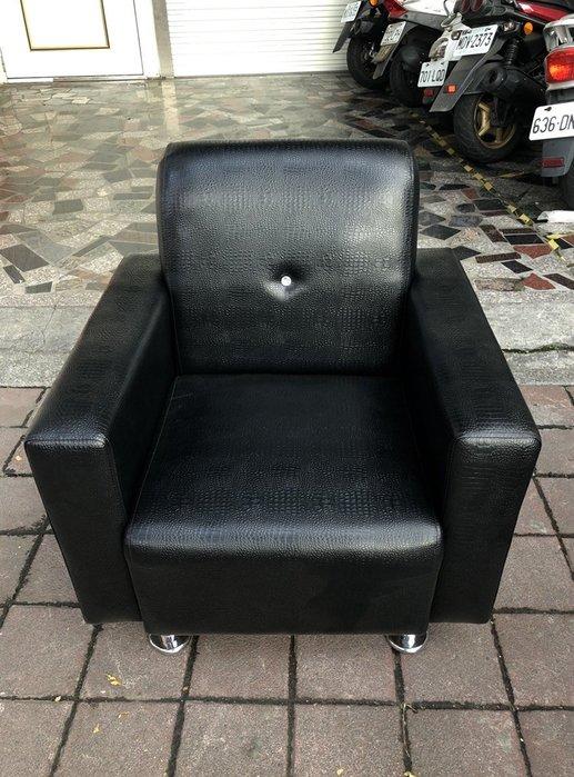 非凡二手家具 全新鑲鑽鱷魚皮革單人沙發*客廳沙發*皮沙發*洽談沙發*辦公沙發*整套沙發*沙發椅*皮革沙發