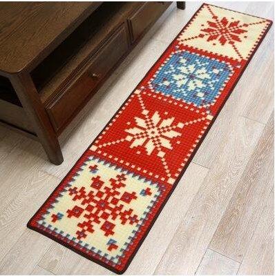 歐式簡約地毯防滑長條地墊-40cm*1...