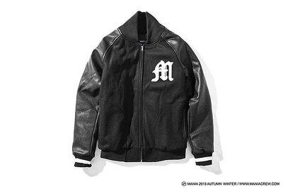MANIA 1/25(六) 13 A/W Varsity Jacket