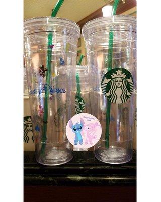 促銷:Starbucks × Disneyland (水杯)