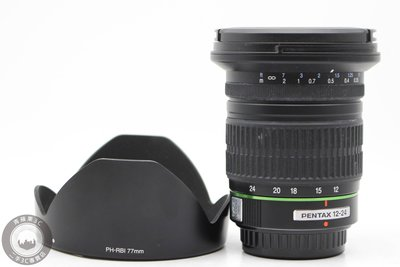 【高雄青蘋果3C】PENTAX SMC DA 12-24mm F4 ED AL 二手鏡頭#49731