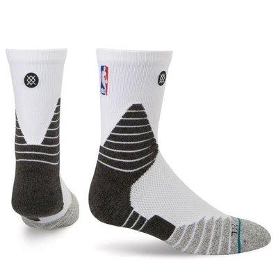 現貨 size:M NBA Stance 359 Solid Quarte Crew 白色 球員版 低筒襪 kobe LEBRON JORDAN