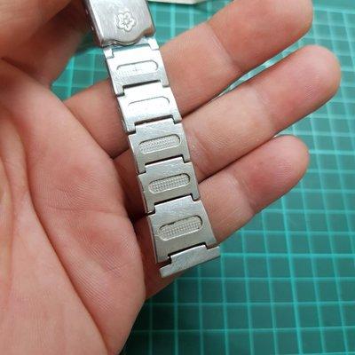 梅花 18mm 錶帶 不銹鋼錶帶 非 MK IWC CK TELUX SEKIO ORIENT CITIZEN 機械錶 石英錶 G08