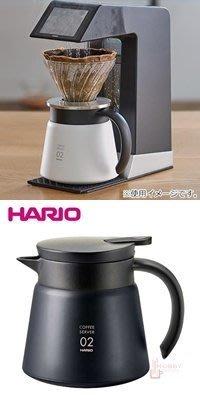 【豐原哈比店面經營】HARIO VHS-60B 02不銹鋼真空保溫壺-600ml 黑色 真空斷熱構造 另有紅‧白色可選