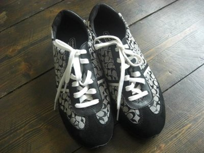 【HILL HOUSE   女性精品】Coach 休閒鞋,size 8M(UK6/EU39),Made in China