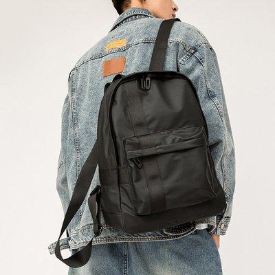 阿南真皮皮包潮牌時尚男背包ins潮男雙肩包簡約戶外背包旅行包大學生書包電腦