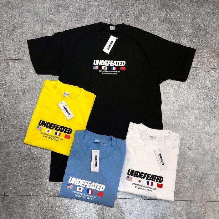 【Faithful】UNDEFEATED OFFICIAL FLAGS S/S TEE【80147】短T