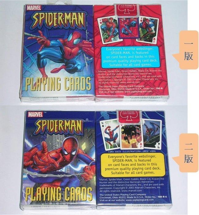 蜘蛛人漫畫系列  撲克牌 (單付裝)