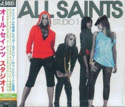 (甲上唱片) ALL SAINTS - Studio 1 - 日盤+2BONUS   14Tracks