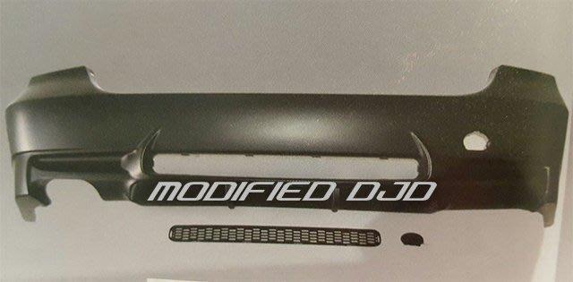 DJD Y0475 BMW E90 05-08 M3樣式 左單出 後保桿