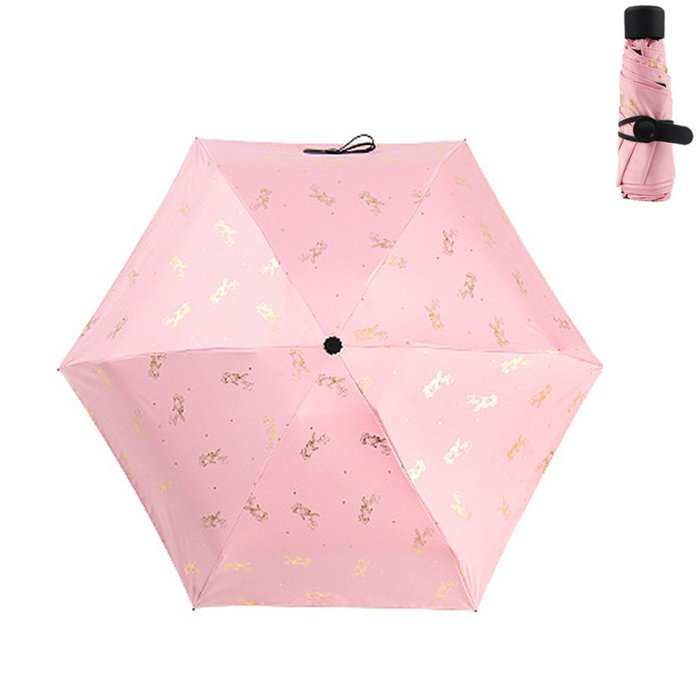 居家生活用品太陽傘防曬防紫外線雨傘遮陽傘晴雨傘手動款I83