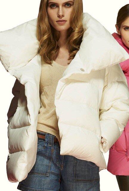 全新未穿 MaxMara  米色A-line短版羽絨外套