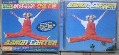 CD~Aaron Carter--同名專輯.收錄I Will Be Yours等