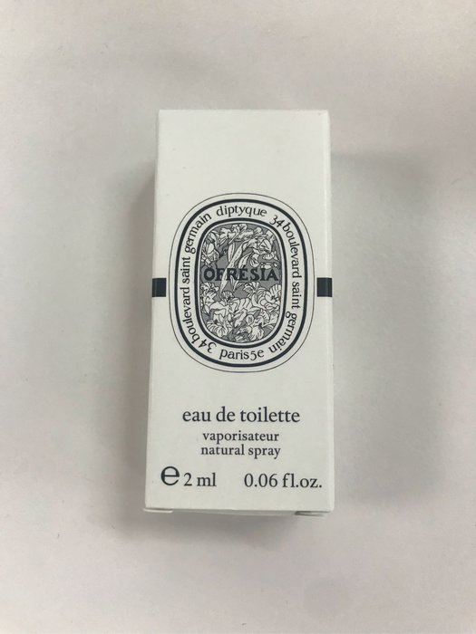 diptyque OFRESIA小蒼蘭淡香水 針管2ml