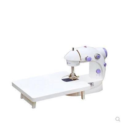 哆啦本鋪 現貨202縫紉機家用 豪華版帶燈帶擴展臺迷你縫紉機 D655