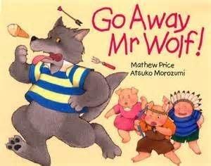 * 英文繪本 / 英文童書 *[ 廖彩杏書單] JYBOOKS: GO AWAY MR.WOLF(書+CD)