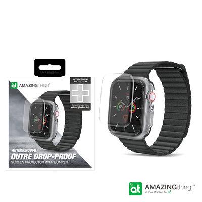 AMAZINGthing Apple Watch S4/5 (40/44mm) 抗菌透明保護套