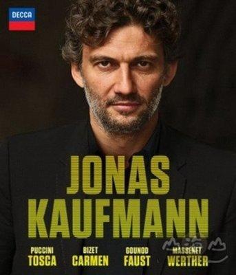 考夫曼 演唱 四大名劇(4BD) /考夫曼 Jonas Kaufmann---0743872