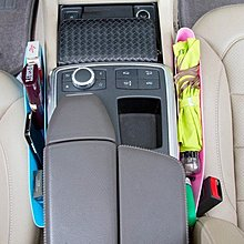 4色可選 縫隙收納盒 車用收納盒 手機置物盒 百貨/汽車收納箱 【神來也】