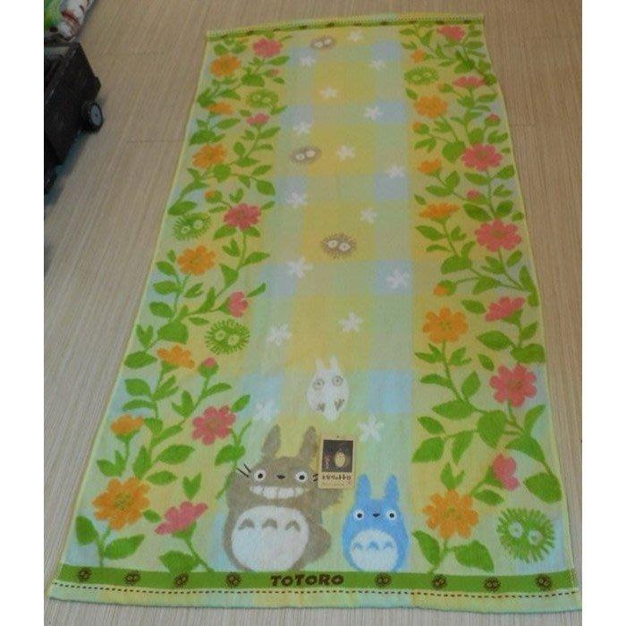 ~~凡爾賽生活精品~~全新日本進口宮崎駿龍貓TOTORO花朵造型浴巾
