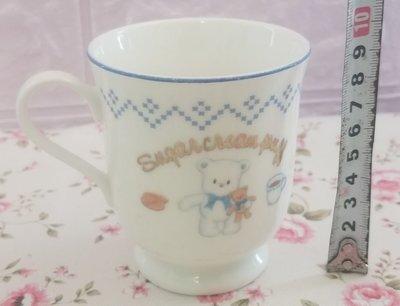 絕版 sanrio sugar cream puff 雪熊 陶瓷杯