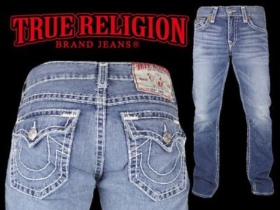 TURE RELIGION MENS RICKY SUPER T JEAN INDEPENDENCE
