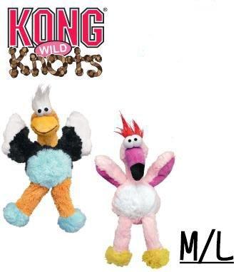Ω永和喵吉汪Ω-KONG Wild Knots 狂野繩結系列玩具 粉紅鳥/老鷹(S/M) NKD14/NKD12