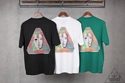 【HYDRA】Palace Tri-Bury T-Shirt 面具 三角 短T【PLC146】