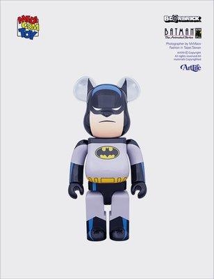 ArtLife @ MEDICOM BE@RBRICK 1000% DC BATMAN ANIMATED 蝙蝠俠
