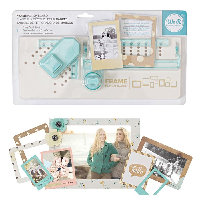 ~❤美國寶寶的衣櫥❤~(現貨)美國 We R Memory Frame Punch Board 魔法框設計板