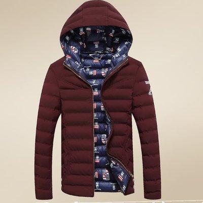 DB 全新冬季外套新款加厚連帽外套短款 紫色 現貨 特價U